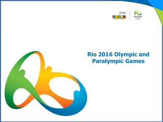 Rio 2016 Olympic and Paralympic Games