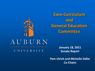 Core Curriculum  and General Education Committee