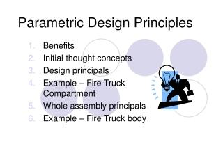 Parametric Design Principles