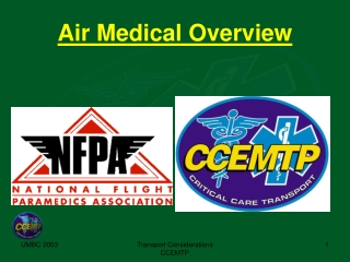 Air Medical Overview