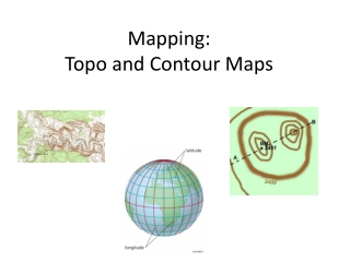 Mapping: Topo and Contour Maps