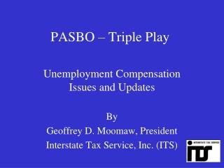 PASBO – Triple Play