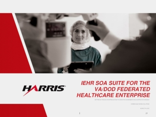 iEHR SOA Suite for the VA/DoD Federated Healthcare Enterprise