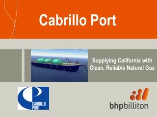 Cabrillo Port