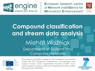 Compound classification and stream data analysis