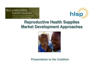 Reproductive Health Supplies Market Development Approaches