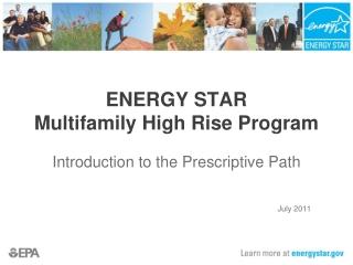 ENERGY STAR Multifamily High Rise Program
