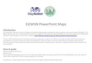 EiEWGN  PowerPoint  Maps