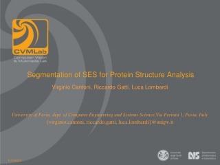 Segmentation of SES for Protein Structure Analysis