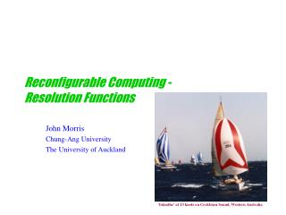 Reconfigurable Computing - Resolution Functions