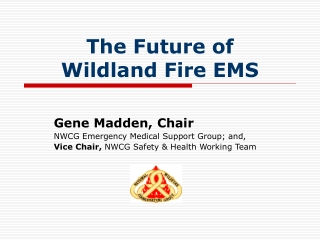 The Future of Wildland Fire EMS