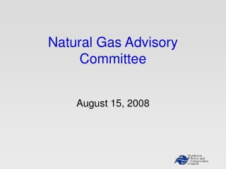Natural Gas Advisory Committee