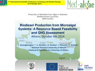 Biodiesel Production from Microalgal Systems: A Resource Based Feasibility and GHG Assessment