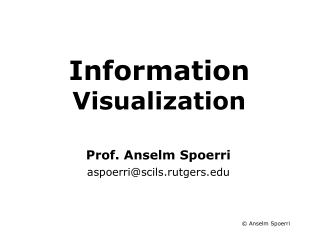 Information Visualization Course