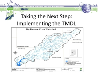 Taking the Next Step: Implementing the TMDL