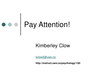 Pay Attention!