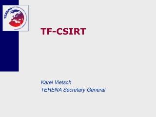 TF-CSIRT