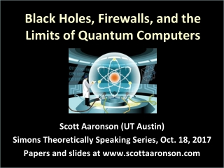 Black Holes, Firewalls, and the Limits of Quantum Computers