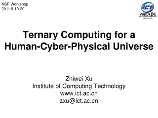 INSTITUTE OF COMPUTING  TECHNOLOGY