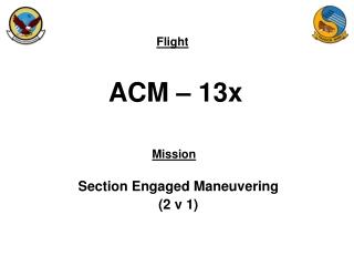 ACM – 13x