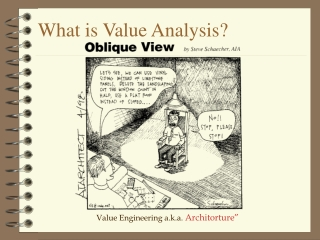 What is Value Analysis?