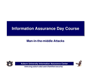 Information Assurance Day Course