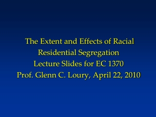 A Quote from Loury's 1976 Ph.D. dissertation (MIT Economics)