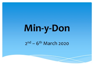 Min-y-Don