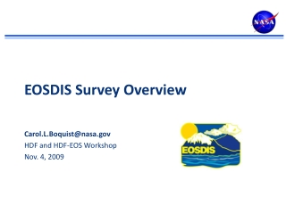 EOSDIS Survey Overview