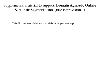 This file contains additional materials to support our paper.