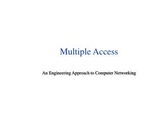 Multiple Access