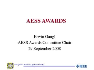 AESS AWARDS