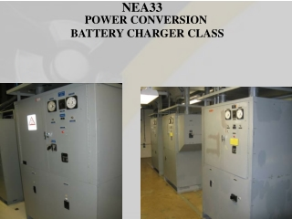 POWER CONVERSION  BATTERY CHARGER CLASS