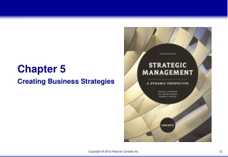 Chapter 5 Creating Business Strategies
