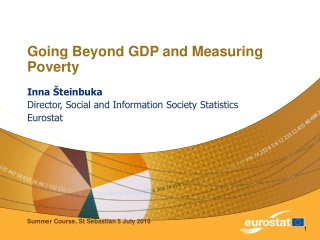 Going Beyond GDP and Measuring Poverty