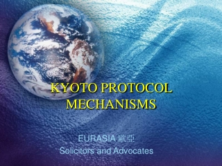 KYOTO PROTOCOL MECHANISMS