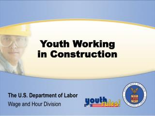 Youth Working in Construction