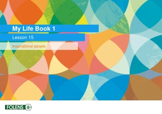 My Life Book 1