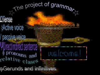 ☆The project of grammar☆