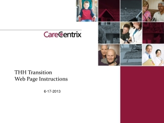 THH Transition Web Page Instructions