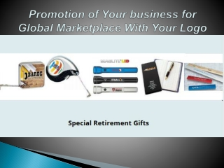 Promotion of Your business for Global Marketplace With Your Logo