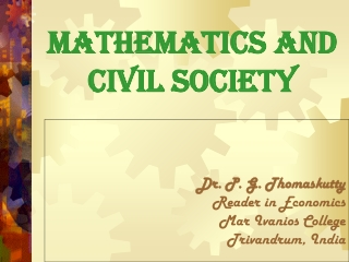 Mathematics and Civil Society