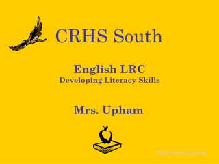 English LRC Developing Literacy Skills