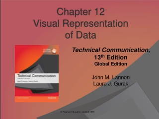 Chapter 12 Visual Representation  of Data