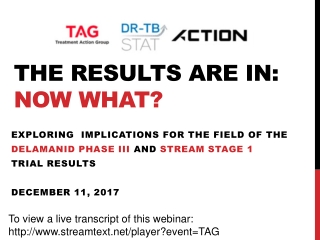 The results are in: now what?