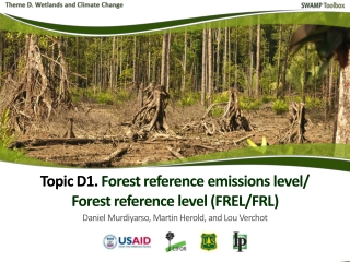 Introduction Reference for mitigation Definitions Developing FREL/FRL Modalities for FREL/FRL