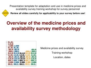 Overview of the medicine prices and availability survey methodology