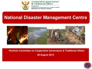 Portfolio Committee on Cooperative Governance & Traditional Affairs  28 August 2012
