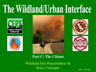 The Wildland/Urban Interface