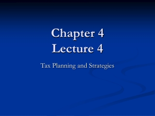 Chapter 4 Lecture 4